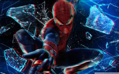 The Amazing Spider-Man 3D 4K HD Desktop Wallpaper for 4K Ultra HD TV • Tablet • Smartphone ...