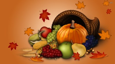 Thanksgiving Background Wallpaper ·①