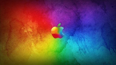 Cool Apple Logo Wallpaper ·①