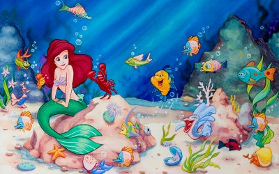 The Little Mermaid Wallpapers ·① WallpaperTag