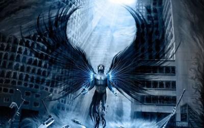 Wallpaper Fallen Angel ·①