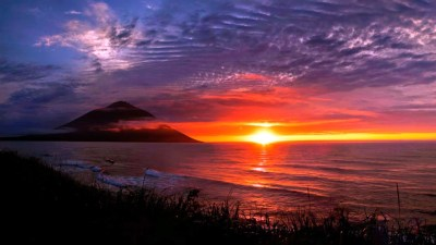 Cool Sunset Backgrounds ·①