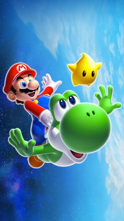 Cool Mario Backgrounds ·①