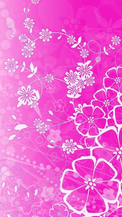 Flower Pink Background ·① WallpaperTag