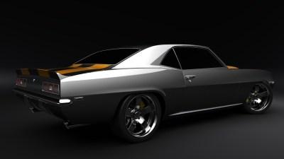 1969 Camaro Wallpaper ·①
