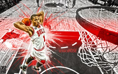 Derrick Rose Wallpaper HD ·①