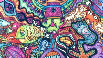 Hippie Background ·①