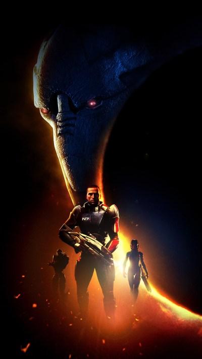 Mass Effect Mobile Wallpaper ·①