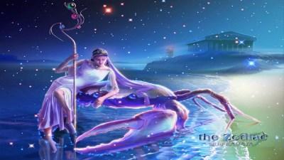 Zodiac Cancer Wallpaper ·①
