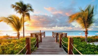 Summer Beach Background ·①