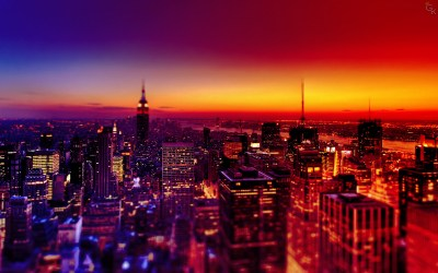 City Night Wallpaper ·①