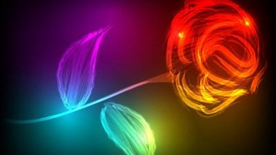 Neon Colors Wallpaper ·①