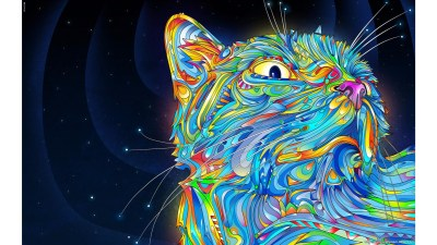 Cool Cat Backgrounds ·①