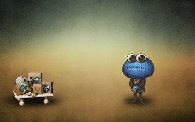 Cookie Monster Backgrounds ·①