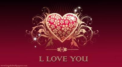 L Love You Wallpaper ·①