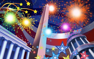 4th of July Backgrounds ·①