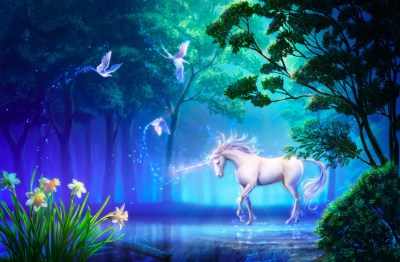 Unicorn background ·① Download free beautiful High Resolution backgrounds for desktop and mobile ...