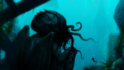 Cthulhu fantasy underwater Wallpapers HD / Desktop and Mobile Backgrounds