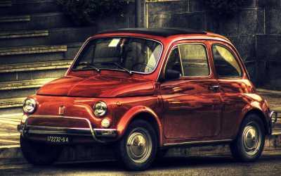 Vintage Fiat 500 Wallpapers HD / Desktop and Mobile Backgrounds