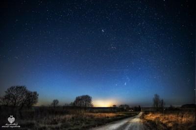 landscape, Evening, Morning, Lithuania, Stars, Nebula, Clouds, Nature Wallpapers HD / Desktop ...