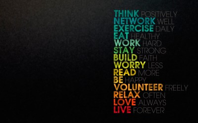 The secret to living a good life Wallpapers HD / Desktop and Mobile Backgrounds