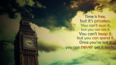 quote, Big Ben, London, Time, Filter, Clouds, Inspirational Wallpapers HD / Desktop and Mobile ...