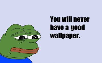 sad, Quote, Memes, Pepe (meme) Wallpapers HD / Desktop and Mobile Backgrounds