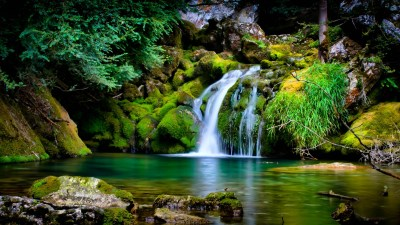 nature, Landscape, Waterfall, 3D Wallpapers HD / Desktop and Mobile Backgrounds