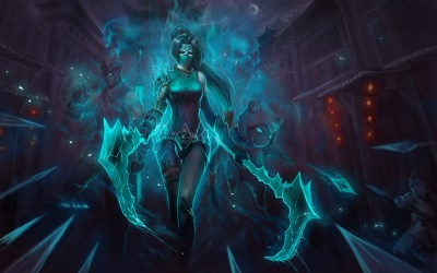 League Of Legends, Akali Wallpapers HD / Desktop and Mobile Backgrounds