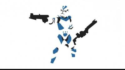 Star Wars, Clone Trooper, Minimalism Wallpapers HD / Desktop and Mobile Backgrounds