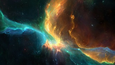 space, Colorful, Galaxy, Stars, Artwork, Fantasy Art ...