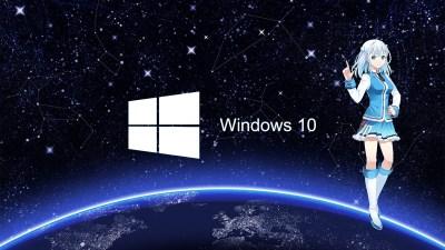 anime, Anime Girls, Windows 10, Os tan, Touko Madobe Wallpapers HD / Desktop and Mobile Backgrounds