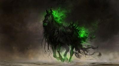 digital Art, Drawing, Fantasy Art, Horse, DeviantArt, Apocalyptic Wallpapers HD / Desktop and ...