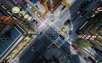 CGI, Intersections, Top View, Grand Theft Auto IV, Birds Eye View Wallpapers HD / Desktop and ...