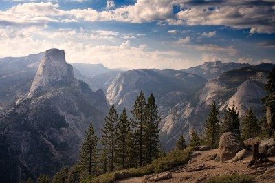 nature, Landscape, Trees, Pine Trees, Rocks, Mountains, Clouds, Photography, Sunlight, Top View ...