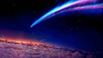 space, Anime, Your name. Wallpapers HD / Desktop and Mobile Backgrounds