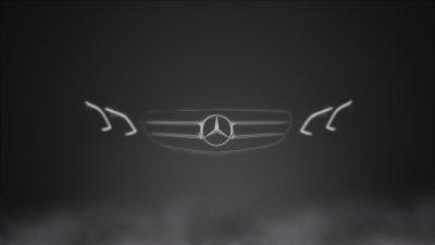 Mercedes Benz, Mercedes Benz E Class, W212, Car, Dark, Logo, Monochrome, Vehicle Wallpapers HD ...