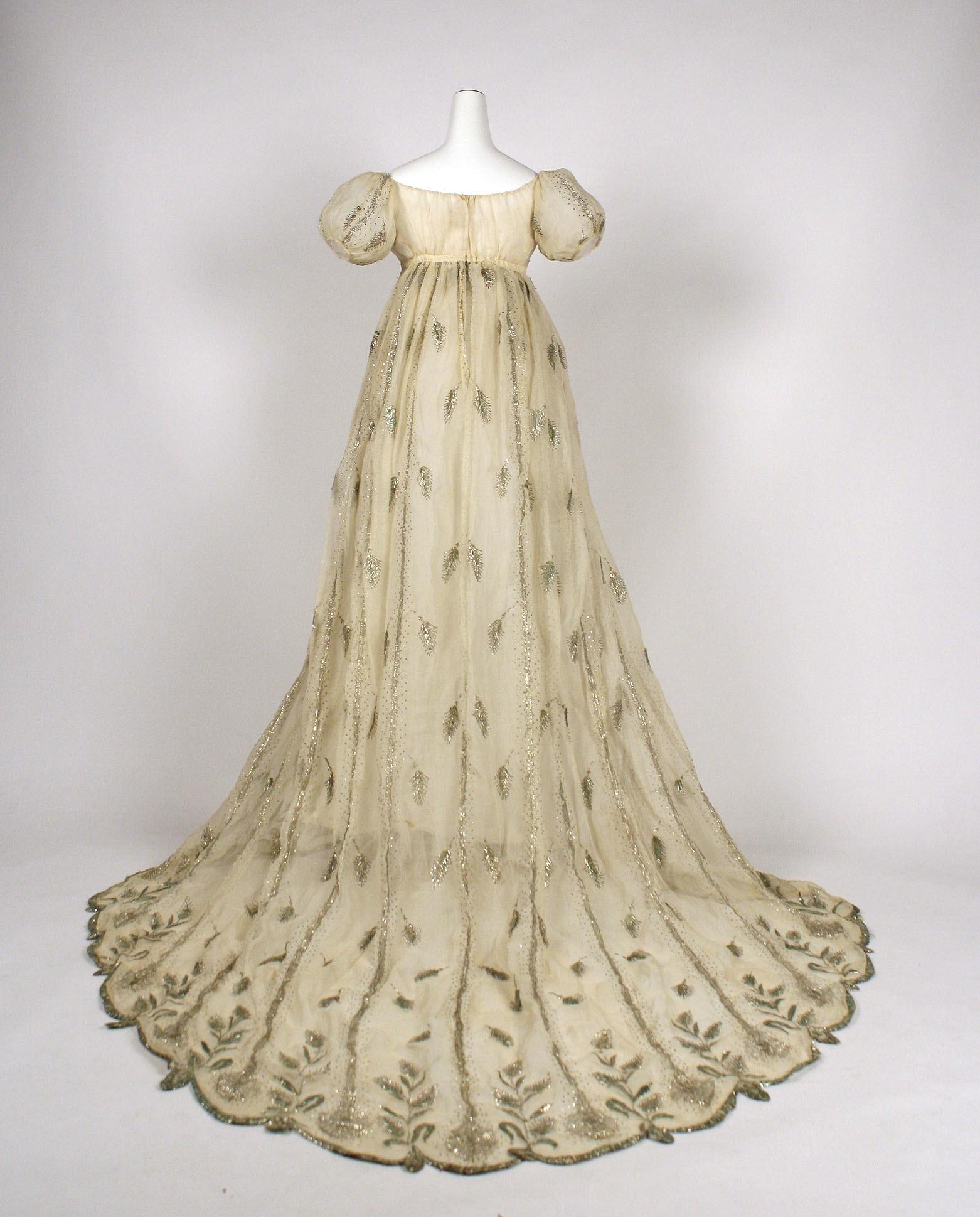 s wedding dress wedding dress Regency Style Wanda B Victorian
