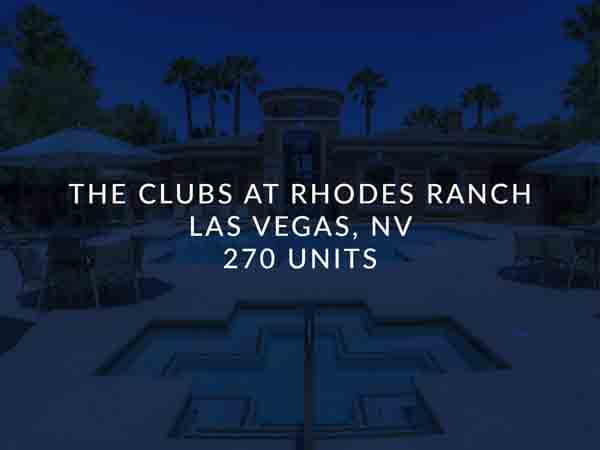 The Clubs at Rhodes Ranch