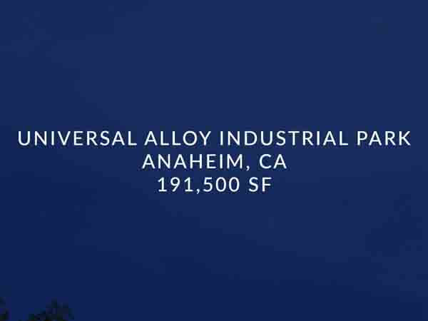 Universal Alloy Industrial Park