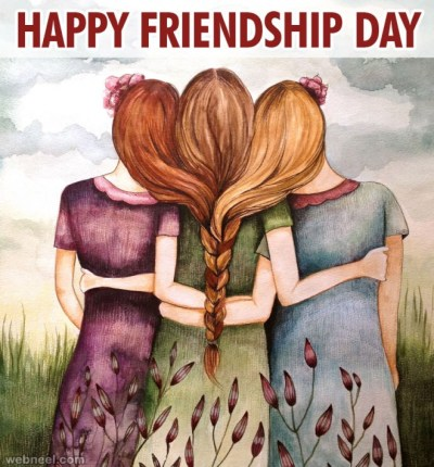 50 Beautiful Friendship Day Greetings Messages Quotes and Wallpapers - 5 August 2018