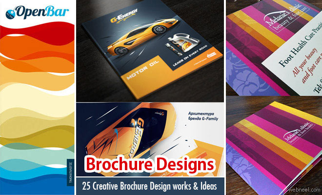 25 Creative Brochure Designs and Design Ideas for your inspiration
