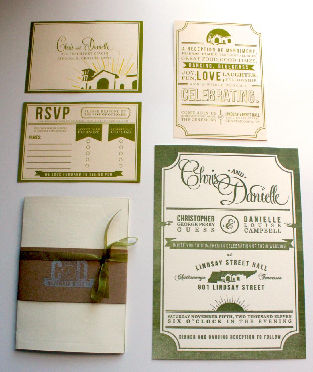 30 uniquely designed wedding invitations wedding invitation set Letterpress Wedding Invitation