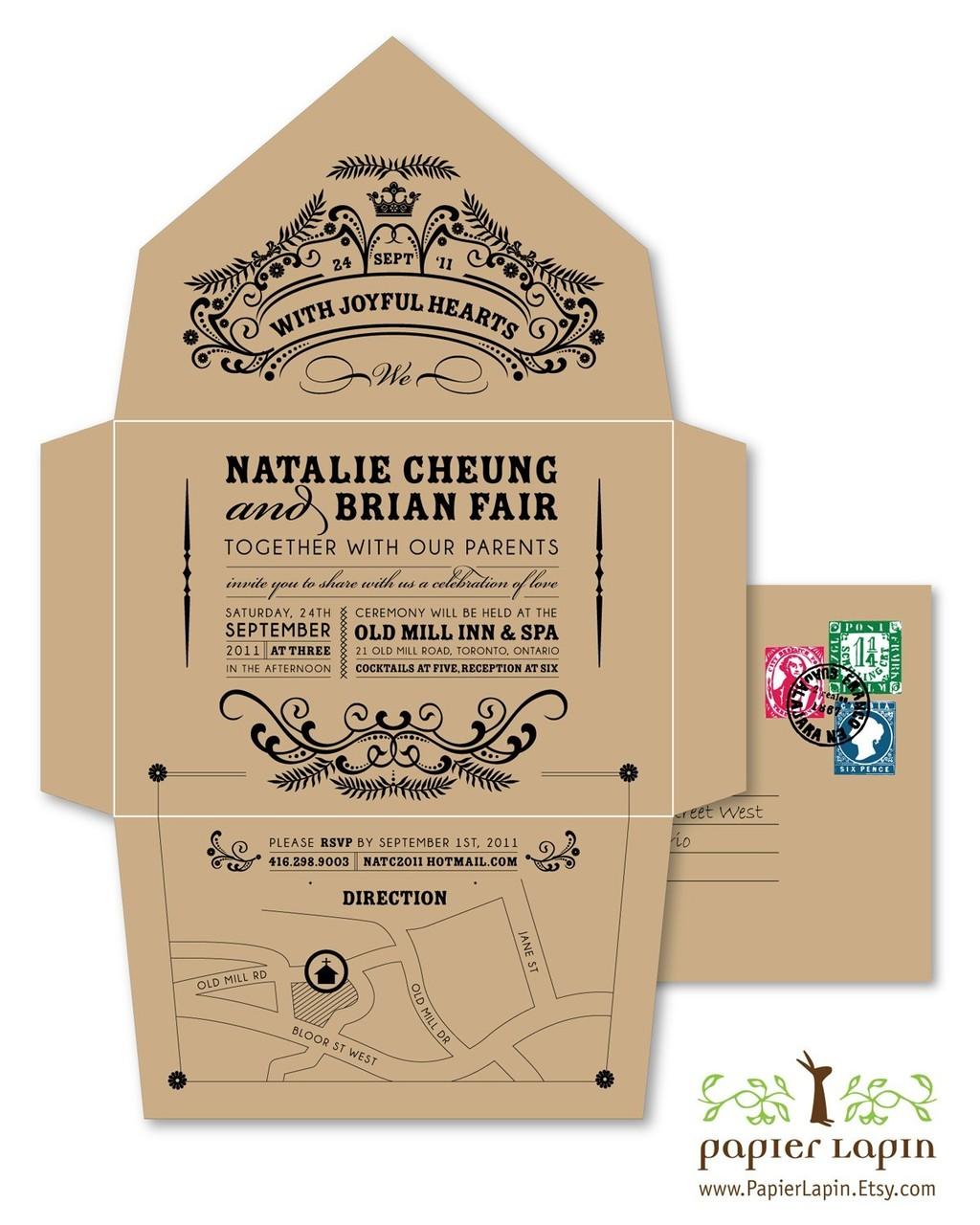 wedding invitations uk etsy etsy wedding invitations Diy Rustic Wedding Invitations Uk 17 Best Ideas About