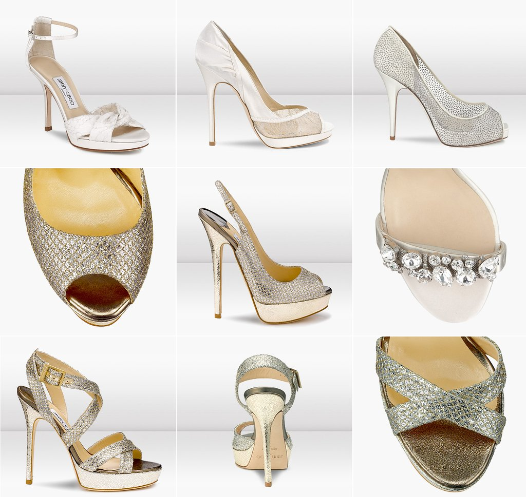gold and silver wedding shoes by jimmu choo silver shoes for wedding