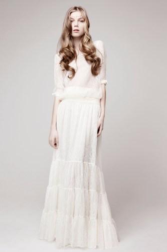 vintage bohemian wedding dresses vintage boho wedding dress Vintage Bohemian Wedding Dresses 23