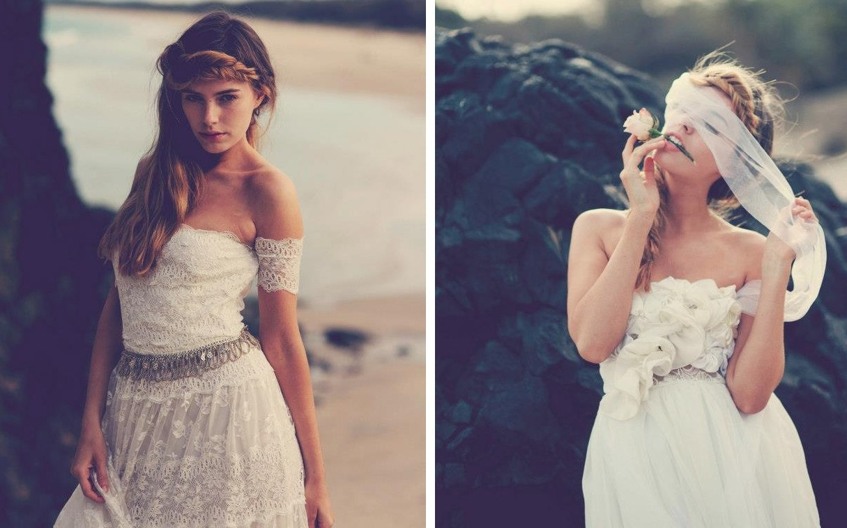 casual beach wedding dresses perth beachy wedding dress Bohemian Beach Wedding Dresses 18