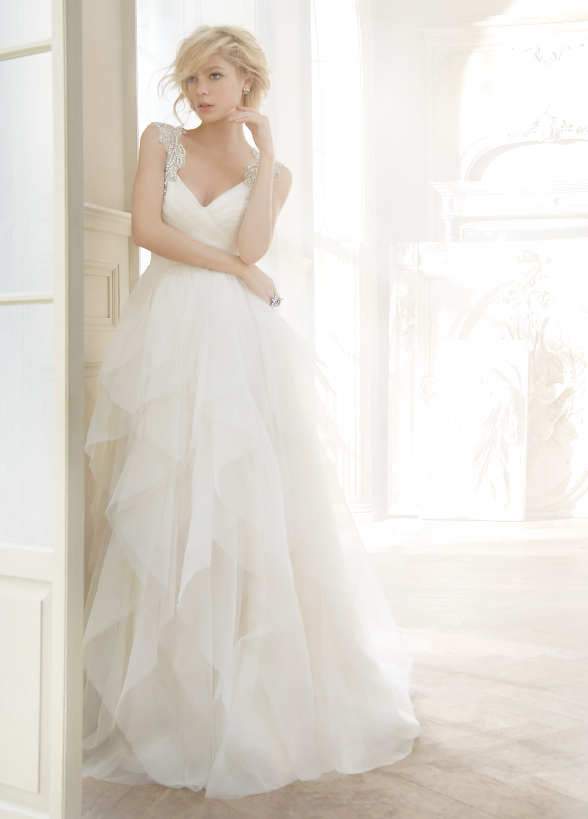 hayley paige wedding dresses hayley paige wedding dress Alluring contrasts are glimpsed in pairings like twinkle and tmatte giving each dress an unmistakable charisma that enhances the bride s own captivating