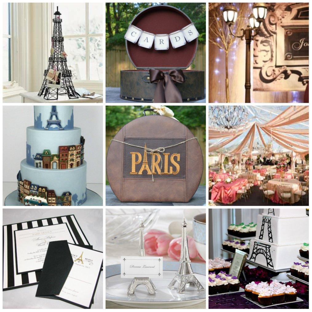 Paris Themed Wedding | Wedding Daze