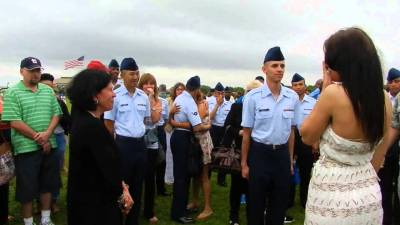 Air Force Graduation Marriage Proposal | Welcome Home Blog